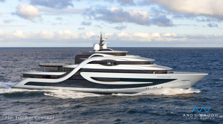 75M Superyacht Expedition Concept