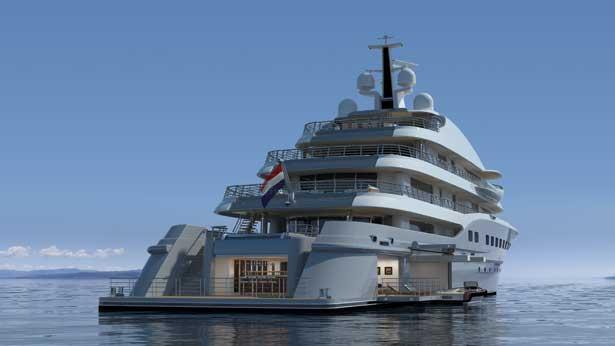 Amels superyacht 272 yacht