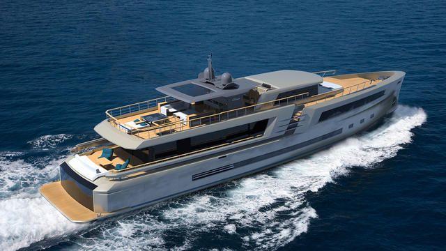 megayacht Couach Lounge 3800 yacht concept 640x360