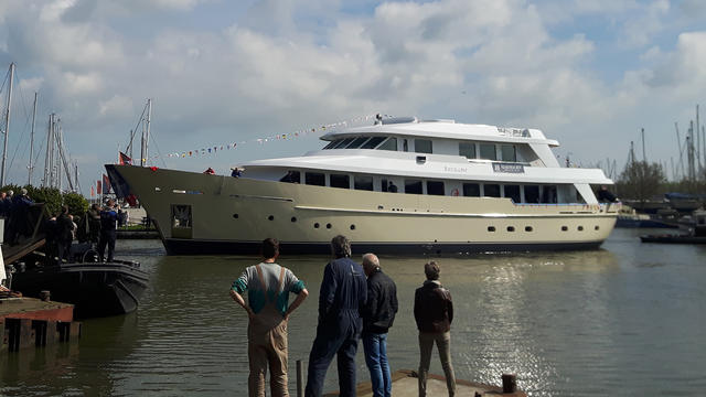 megayacht Soprano launched Hakvoort yacht 640x360