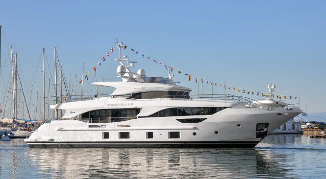megayacht Benetti Delfino 95 665x366