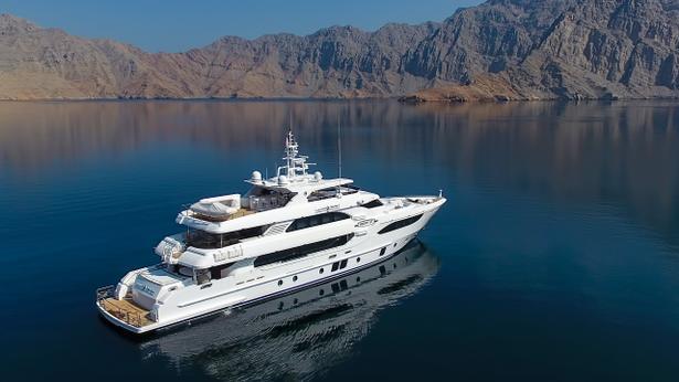 megayacht Lulwa yacht Gulf Craft Majesty 135 delivered 615x346