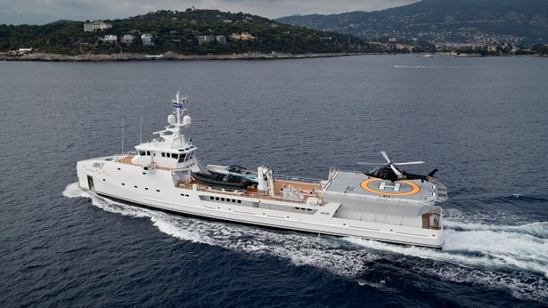 megayacht damen yacht support vessel game changer