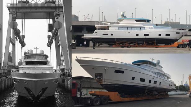 megayacht johnson 112 yacht launched