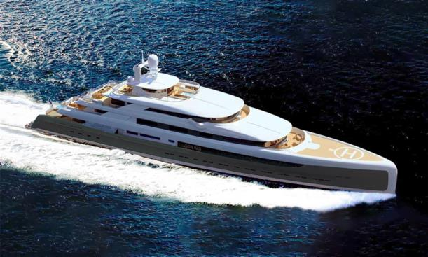megayacht pride illussion