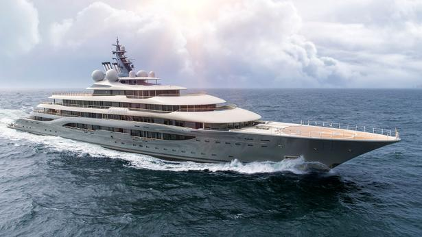 megayacht SHU superyacht sea trials