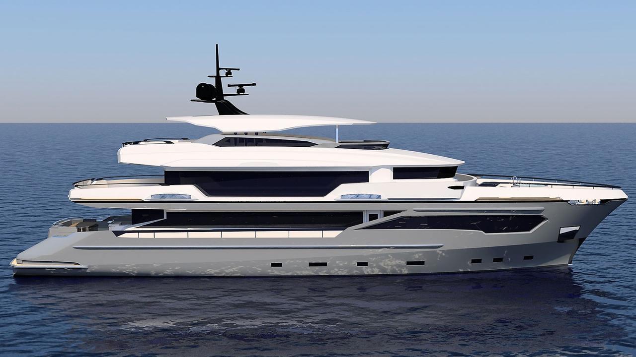 megayacht Kando 130 yachts