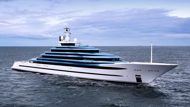megayacht Oceanco superyacht Jubilee