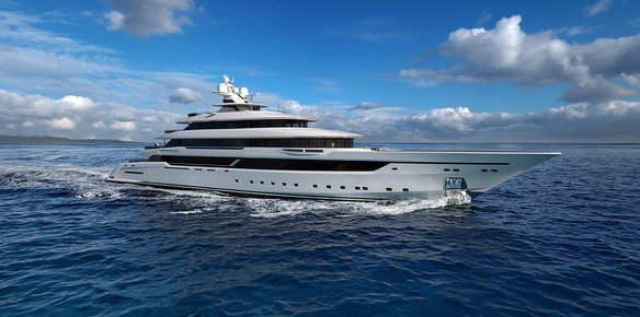 megayacht columbus 80 on track for delivery