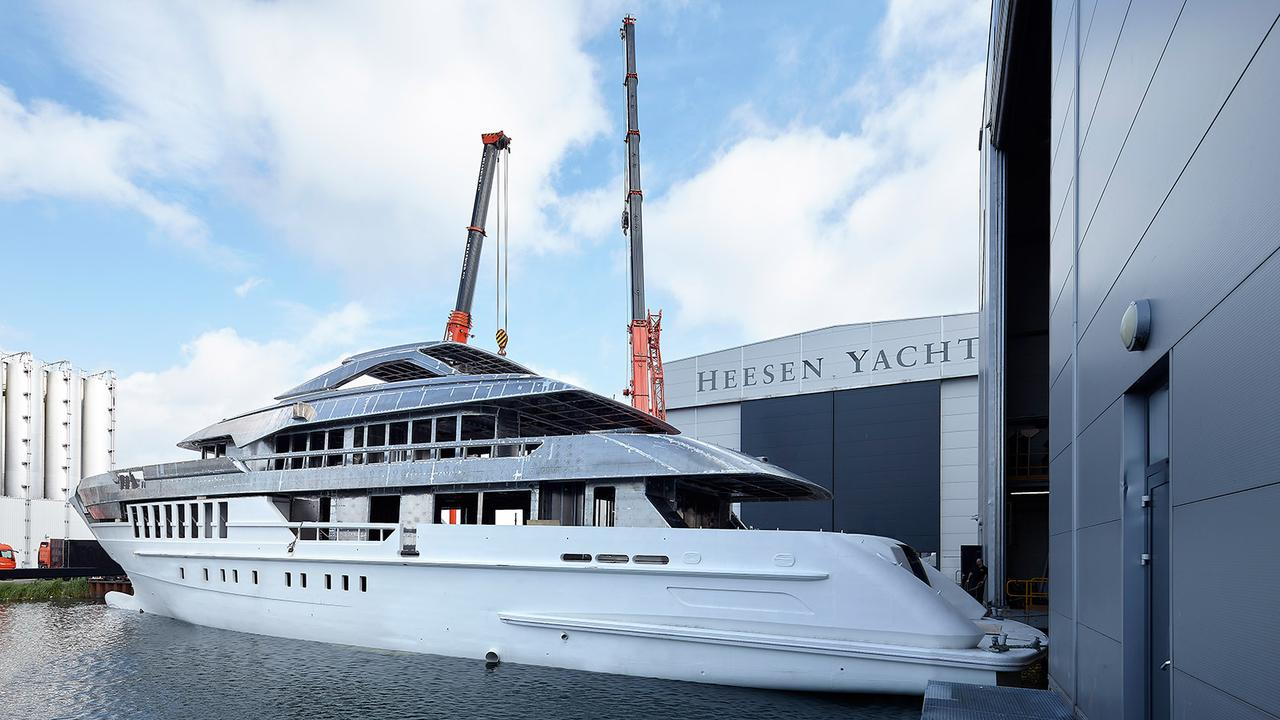 megayacht heesen yachts in build update credit dick holthuis