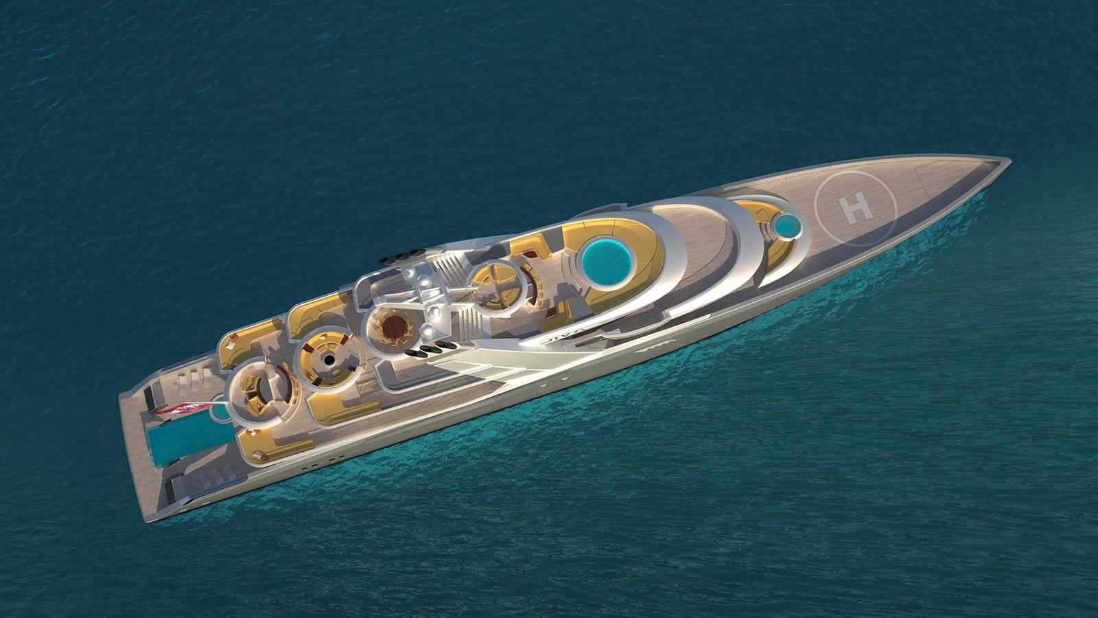 megayacht DIVA concept 1
