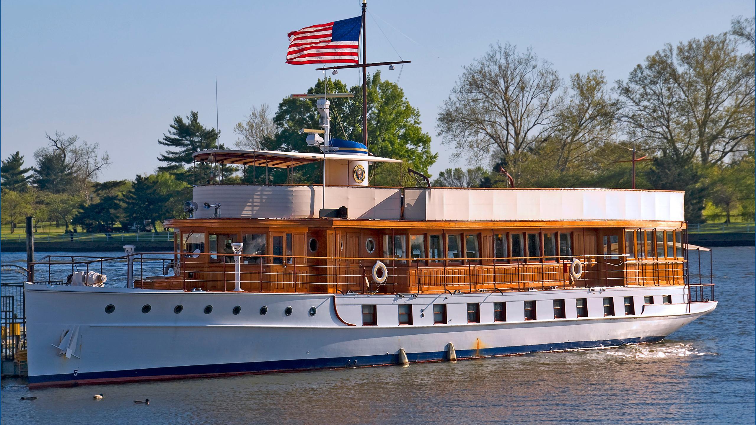 megayacht presidential yacht sequoia 2560x1440