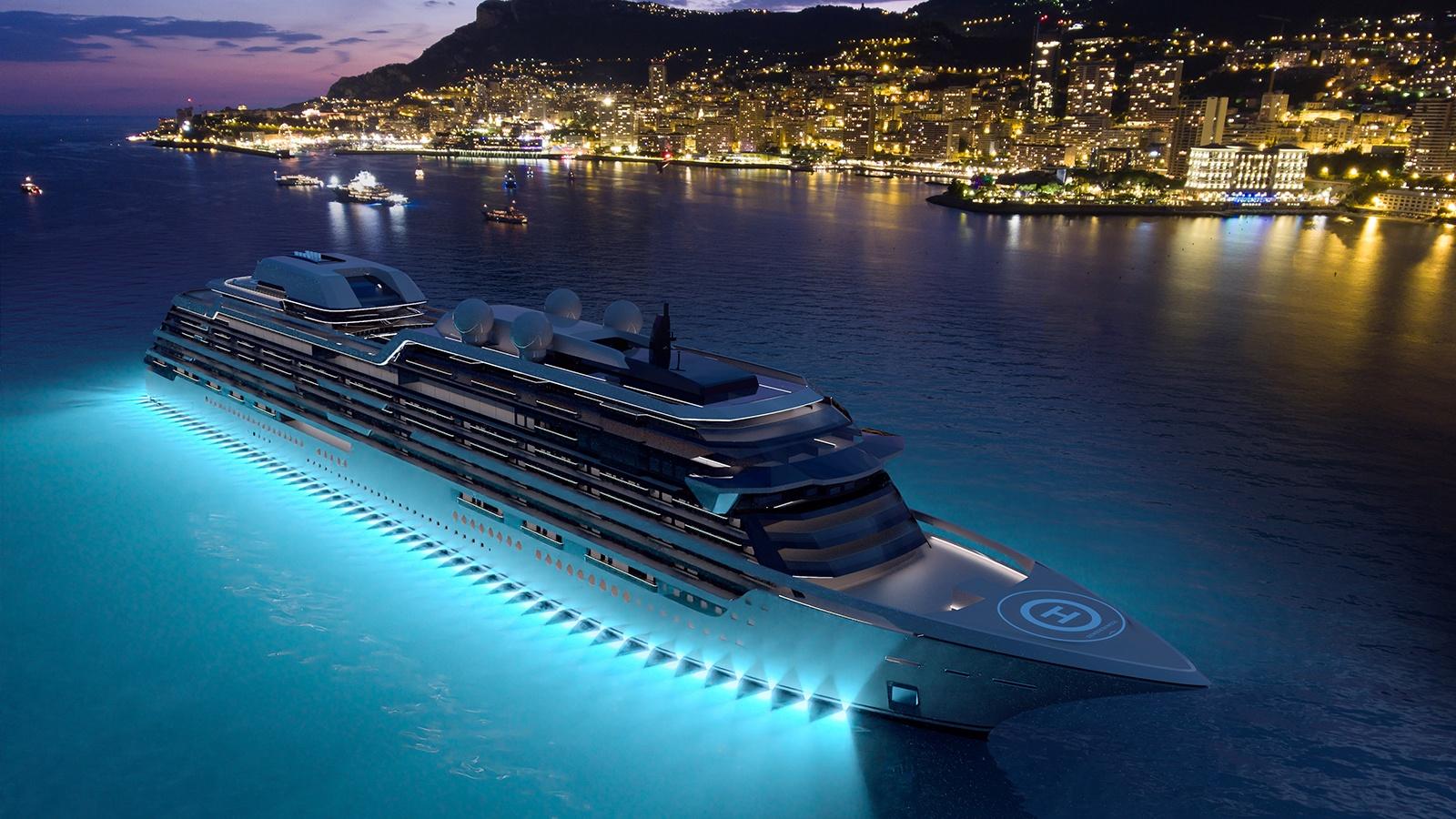 megayacht Espen Oeino cruise ship design 2560x1440